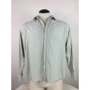 Tommy Bahama 100% Silk Casual Long Sleeve Button